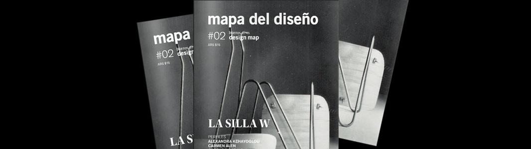 Silla W, César Jannello>Portada en Mapa del diseño #02